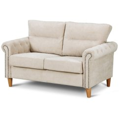 2 Seater Love Chair Stair Lift Shop Costway Modern Linen Fabric Sofa Seat Couch Upholstered Nailhead Beige