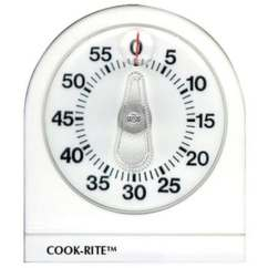Taylor Kitchen Timer Crosley Island Shop 90350 000 Cook Rite Mechanical White Free Shipping On Orders Over 45 Overstock Com 12499521