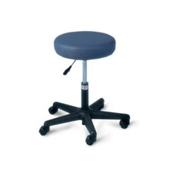 Office Chair Adjustment Levers Folding Table Shop Hausmann Economy Lever Short Height Adjust Air Lift Stool Black