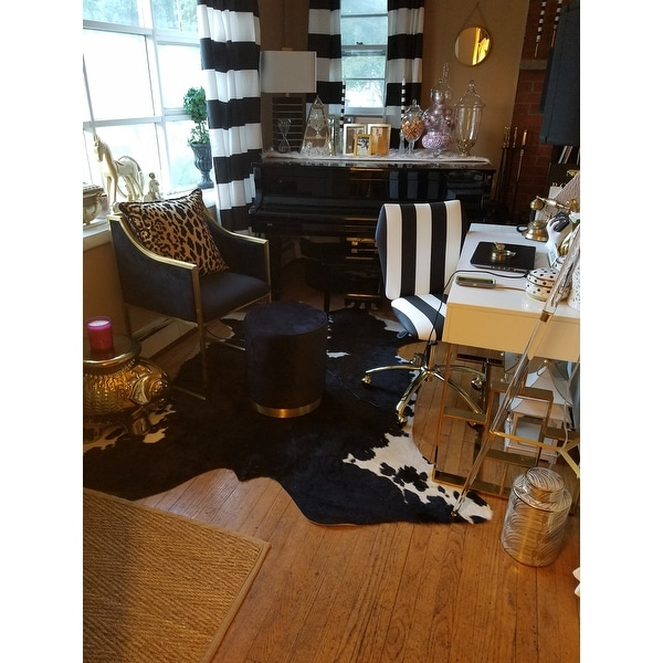 black velvet chair teak table and chairs garden shop atara gold free shipping today overstock com 16753764