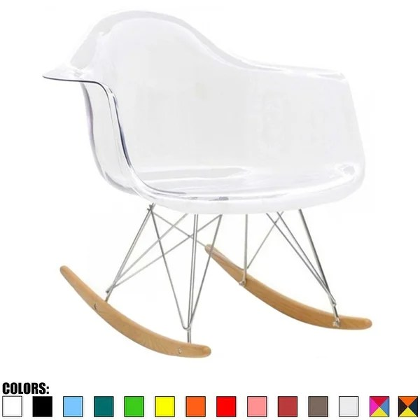 rocking chair rockers kd smart shop 2xhome modern armchair with arm colors natural wood dining