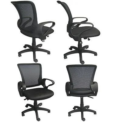 office chair ergonomic cushion mac makeup shop 2xhome mesh executive computer desk task with arms back wheels swivel adjustable height mid free shipping today