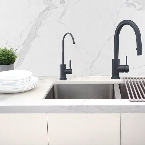 kitchen sink drinking water faucet