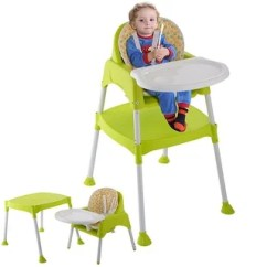Mia Moda High Chair Pink Plastic Outdoor Table And Chairs & Booster Seats For Less | Overstock.com