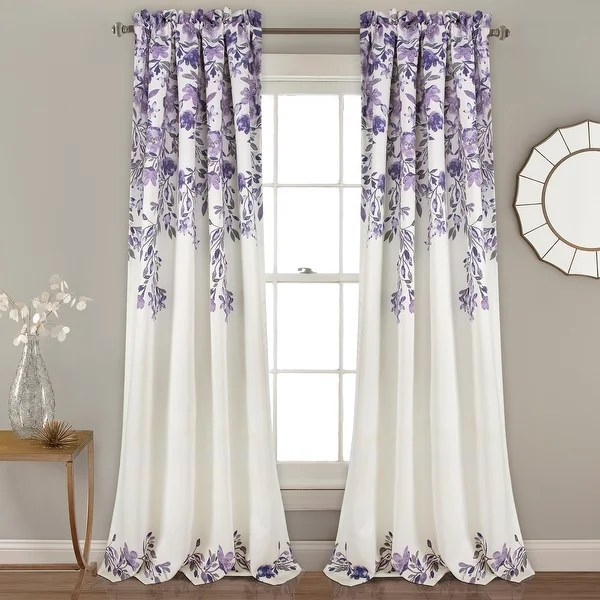 buy purple curtains drapes online at