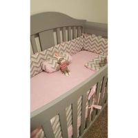 Shop Sweet JoJo Designs Zig Zag 9-piece Crib Bedding Set ...