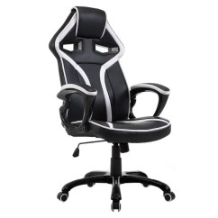 Bucket Racing Chair Steel Spacers Shop Costway Race Car Style Seat Office High Back Gaming Desk Task