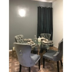 Tufted Dining Room Chairs What Is A Parsons Chair Shop Abbyson Versailles Grey On Sale Free Shipping Today Overstock Com 10855757