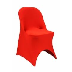 Folding Chair Slipcovers Explorer Captains Chairs Shop Red Single Spandex Slipcover Free Shipping On Orders Over 45 Overstock Com 18740292