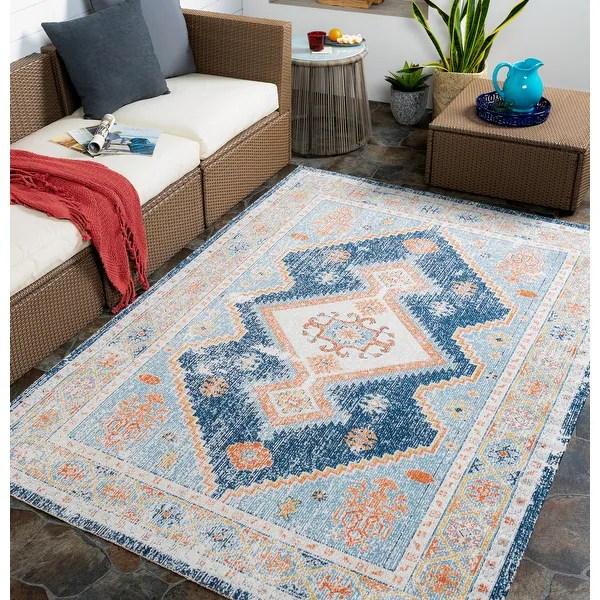 buy outdoor southwestern area rugs