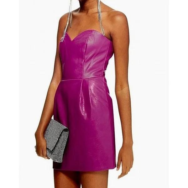topshop purple womens size