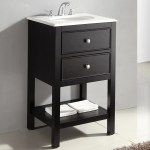 Wyndenhall Fairfield 20 Inch Contemporary Bath Vanity With Bombay White Engineered Quartz Marble Top On Sale Overstock 8777931 Midnight Black