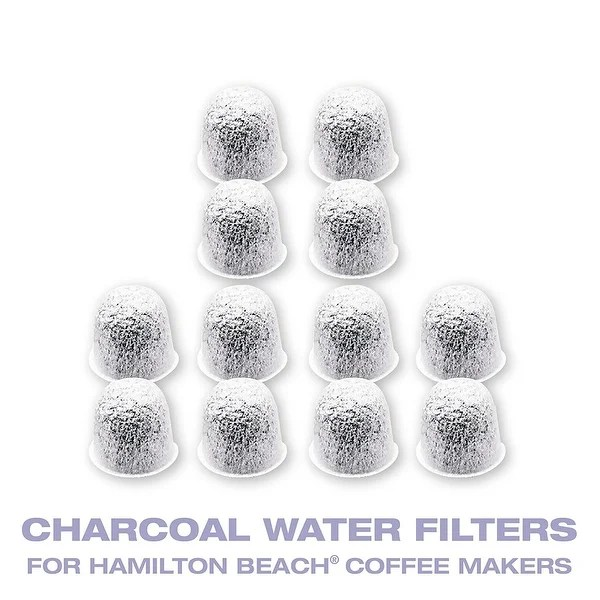 Shop GoldTone Charcoal Water Coffee & Espresso Filter