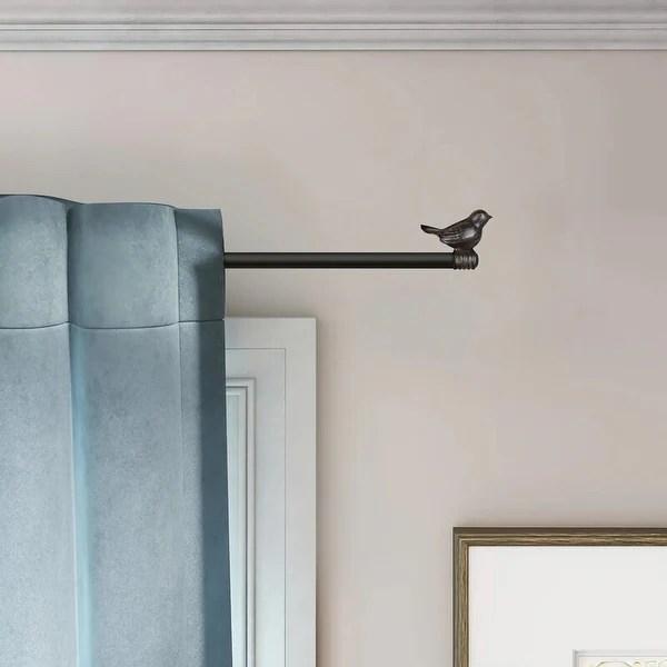 decorative designer curtain rod