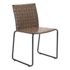 Basket Weave Dining Chairs Navy Chair Covers Wedding Shop Zuo Modern 703859 Beckett 22 Wide Steel With Seats A Espresso Free Shipping Today Overstock Com 23102051