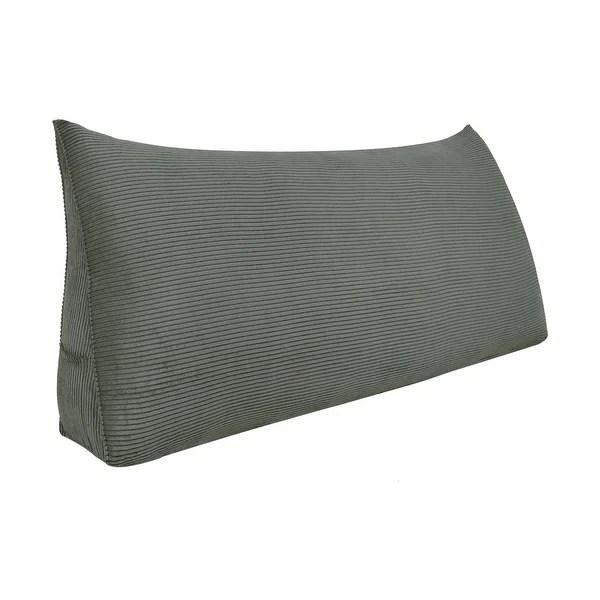 tv watching daybed headboard cushion