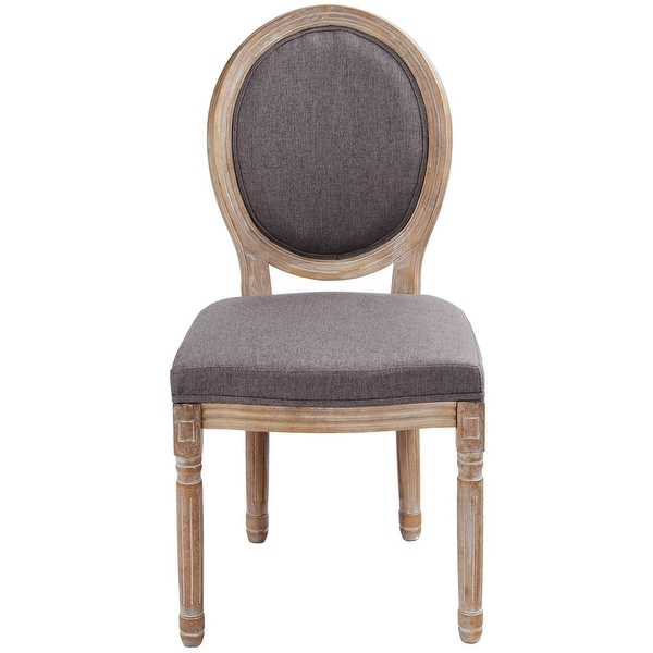 what type of fabric to cover kitchen chairs cheap gamer chair shop gymax upholstered dining oval side home furniture gray
