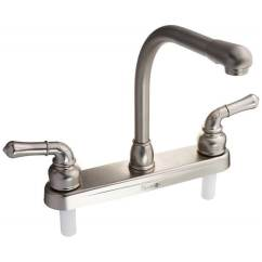Rv Kitchen Faucets Affordable Curtains Shop Classical Hi Rise Faucet Brushed Satin Nickel