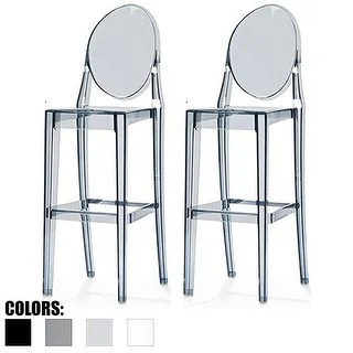 chair stool with back mothercare travel high booster seat buy clear counter bar stools online at overstock com our best dining room furniture deals