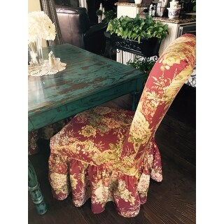 Shop Sure Fit Waverly Ballad Bouquet Dining Room Chair