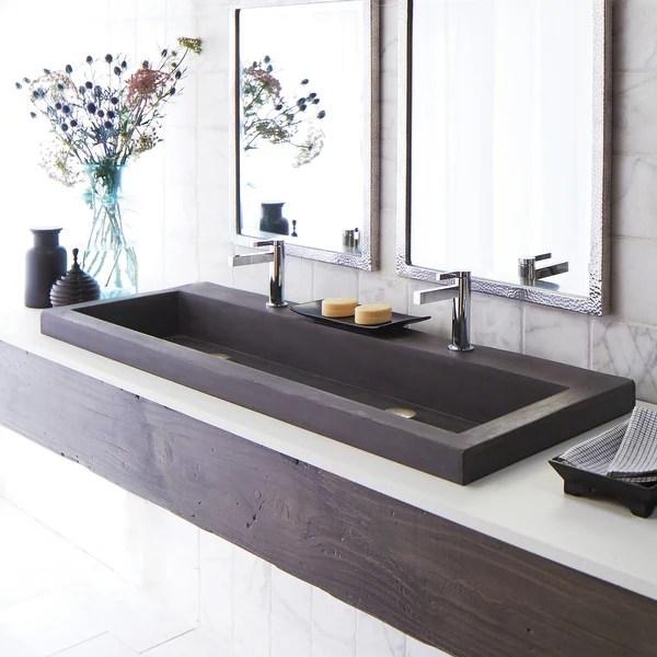 trough 48 inch nativestone undermount