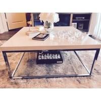 Safavieh Modern Glam Malone White/ Chrome Coffee Table ...