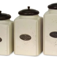 Canisters Kitchen Pop Up Electrical Outlets For Islands Buy Online At Overstock Com Our Best Storage Deals