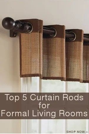 Top 5 Curtain Rods For Formal Living Rooms Overstock™