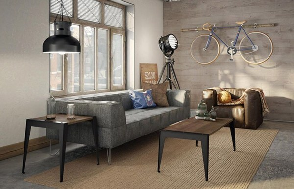 industrial design living room furniture Industrial Furniture & Decor Ideas for Your Home - Overstock.com