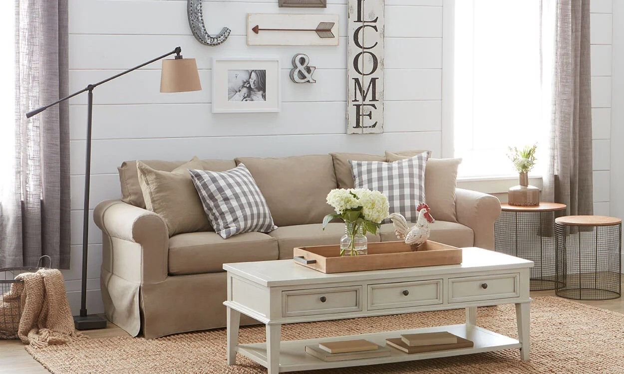 Charming Farmhouse Decorating Ideas  Overstockcom