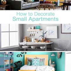 Ideas For Small Apartment Living Room Design With 2 Loveseats How To Decorate Apartments Overstock Com Tips Spaces Are A Fact Of Life Whether You Live In Or Only Have One Two Rooms Your Home The Great Thing About