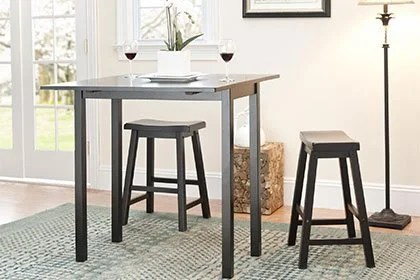 small kitchen table water filters dining tables chairs for spaces overstock com traditional shapes