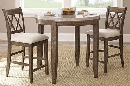 small kitchen table beveled tiles dining tables chairs for spaces overstock com tall