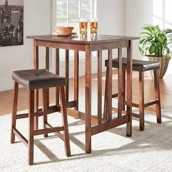 kitchen tables & more modern cabinet hardware small dining chairs for spaces overstock com ways to shop