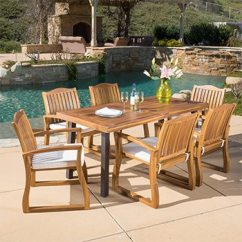 Outdoor Table And Chairs Wood Heated Chair Cover For Recliner Patio Furniture Find Great Seating Dining Deals Shopping At Overstock Com