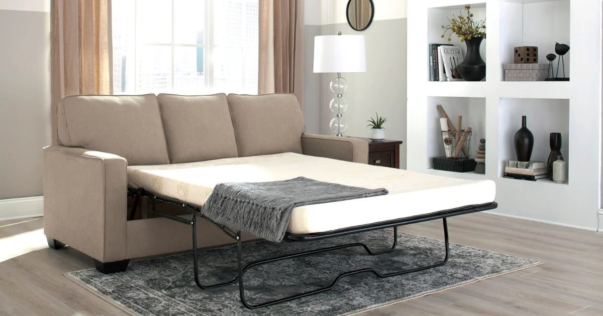 sofa sleeper bed frame beds darwin nt how to make a pull out more comfortable overstock com