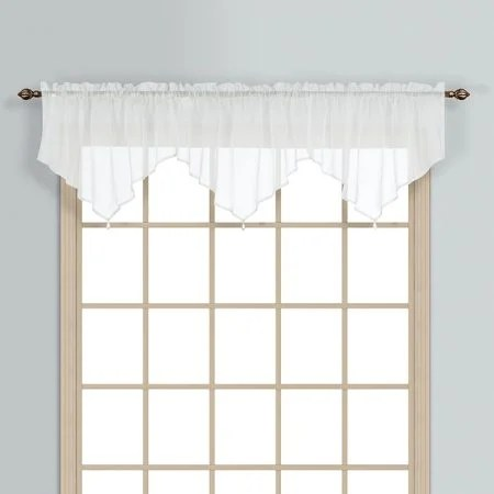 living room window valances floor ideas for 6 valance styles that look great in any white ascot hanging a wood framed