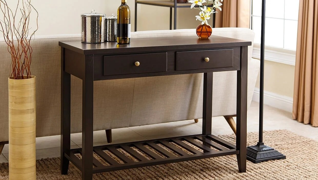4 Easy Tips for Picking the Perfect Sofa Table  Overstockcom