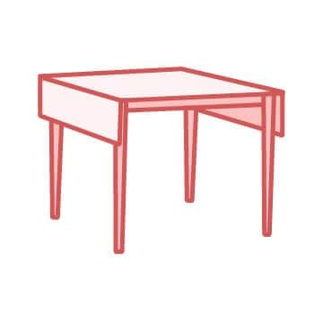 drop leaf kitchen tables for small spaces how much new cabinets top 5 table styles overstock com transitional