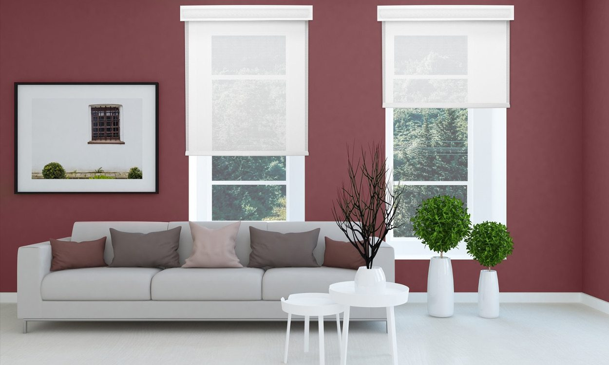 blinds for living room images of rooms with grey walls 3 ways to find the best window your white roman style