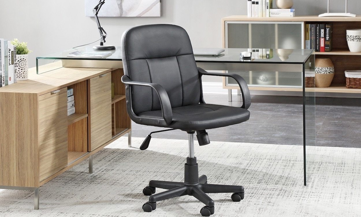 desk chair leans forward red glider how to find comfortable inexpensive office chairs overstock com