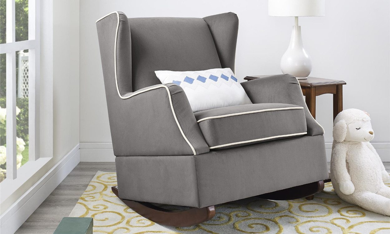 where to buy a rocking chair stadium chairs for sale 4 steps buying the perfect overstock com grey upholstered