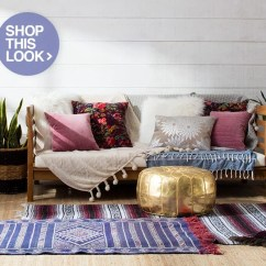 Bohemian Sofa Bed At Argos Boho Chic Furniture Decor Ideas You Ll Love Overstock Com