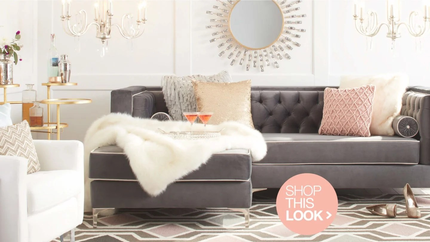 glam sofa set slipcover uk dazzling decorating ideas for your home overstock com room