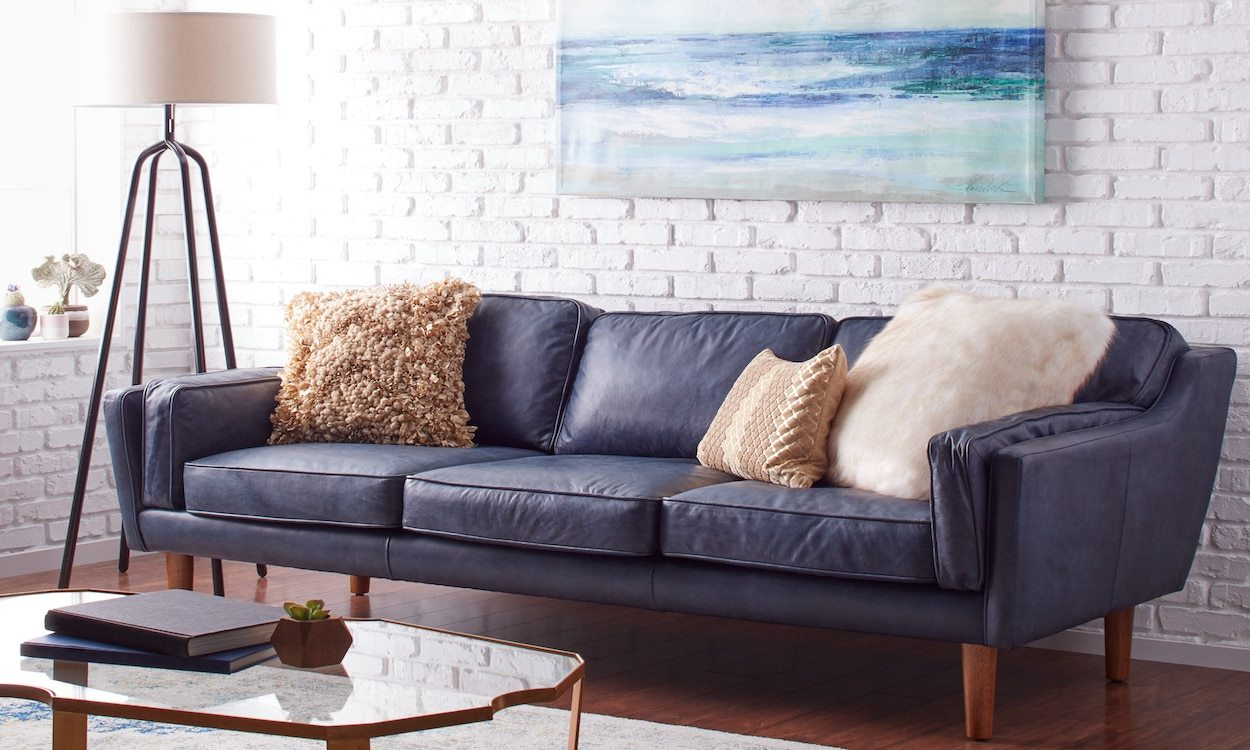 living room furniture on a budget beautiful nigerian designs how to choose overstock com blue leather sofa in