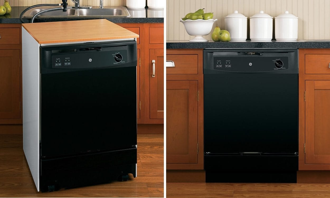 how to use a portable dishwasher