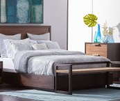 queen bed for small spaces