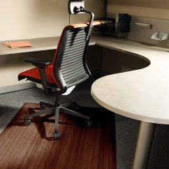 Office Chair Mat Metal Leg Floor Protectors How To Pick A Use Under An Overstock Com Red In
