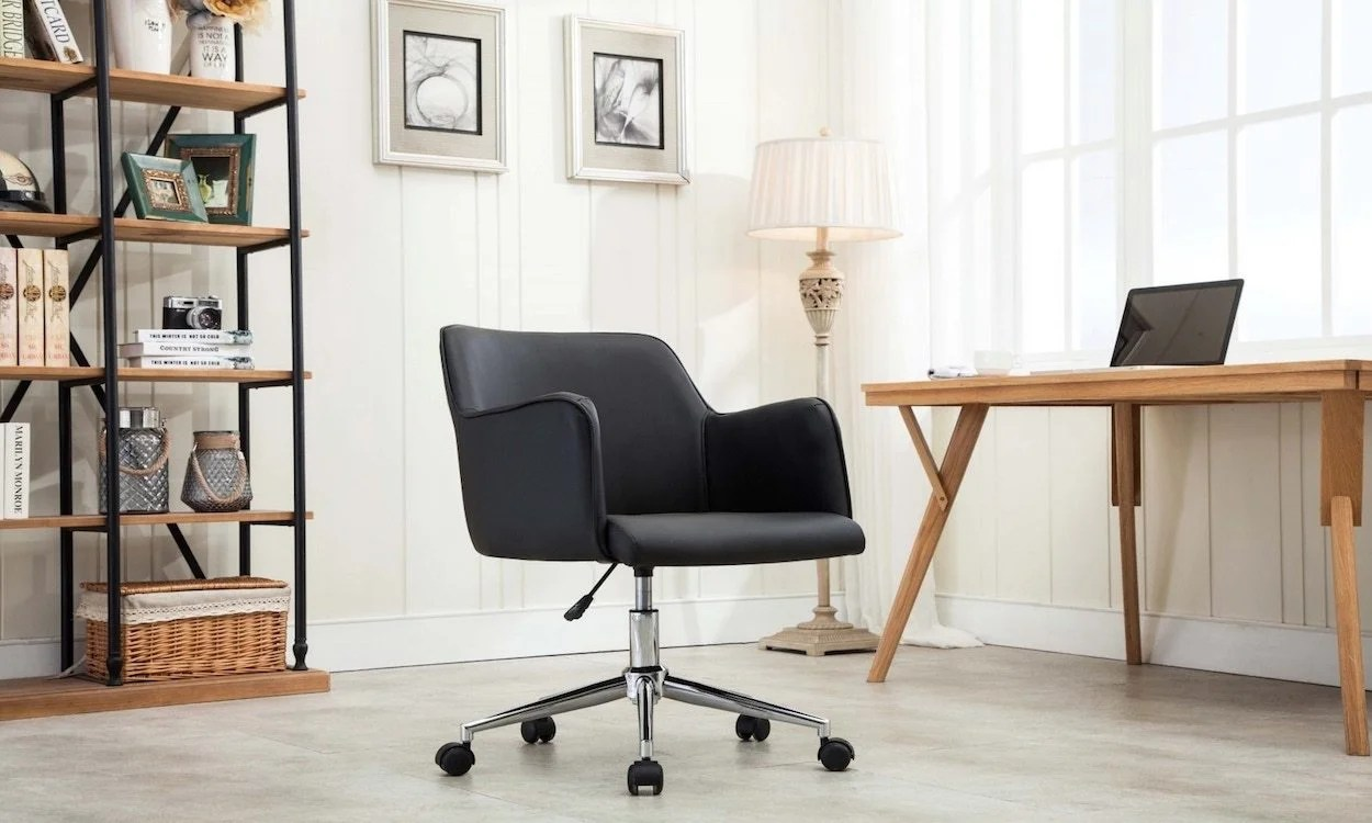ergonomic chair home furniture uk how to choose an overstock com a black in office
