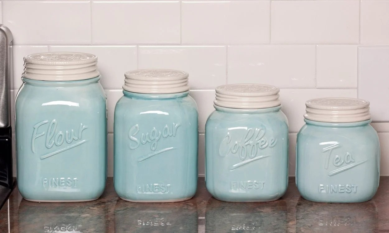 canisters kitchen dexter tips on buying storage overstock com